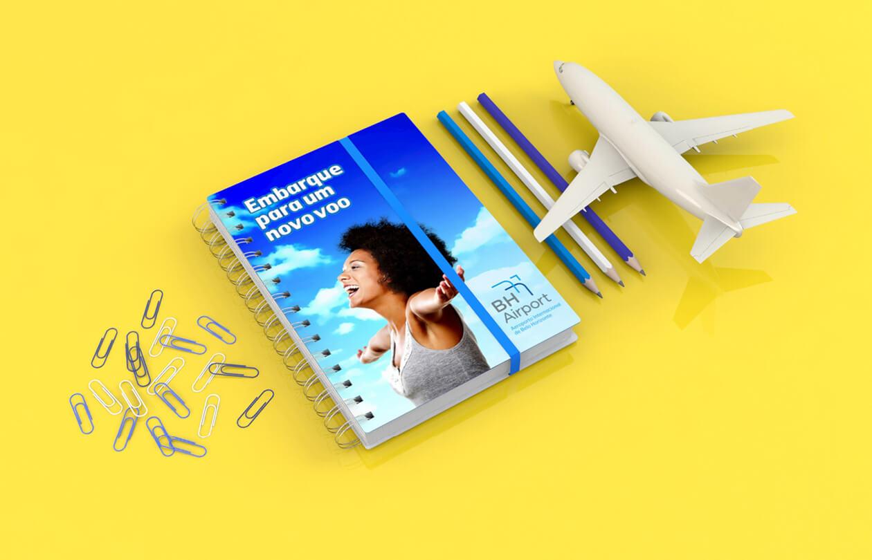 BH Airport | Caderno e Lápis