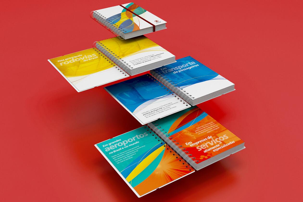 Grupo CCR | Cadernos