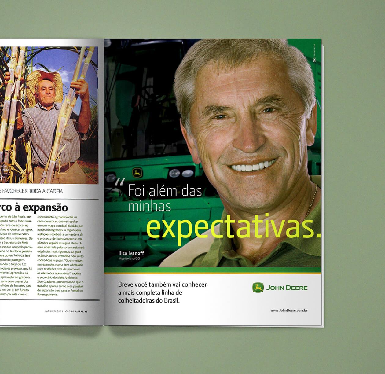 John Deere | Anúncio de Revista