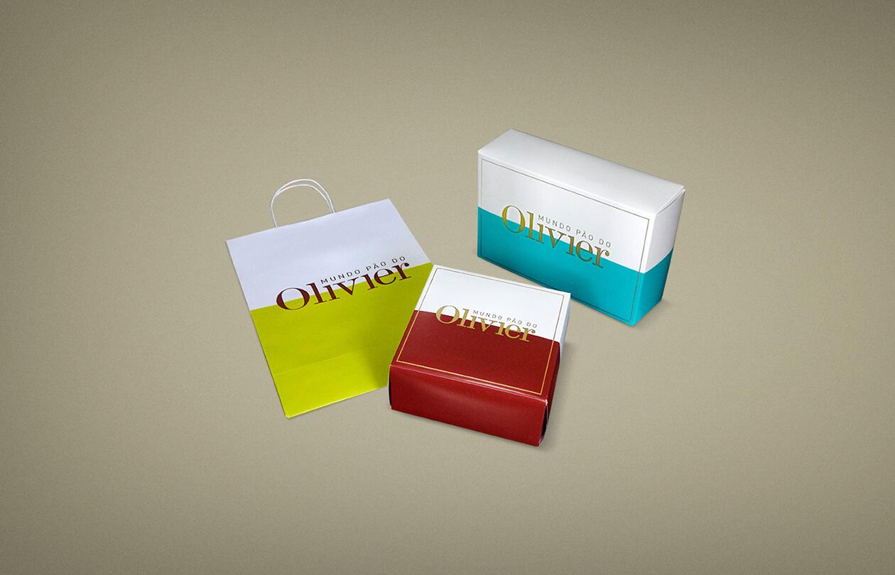 Olivier Anquier | Sacola e Caixas de Presente