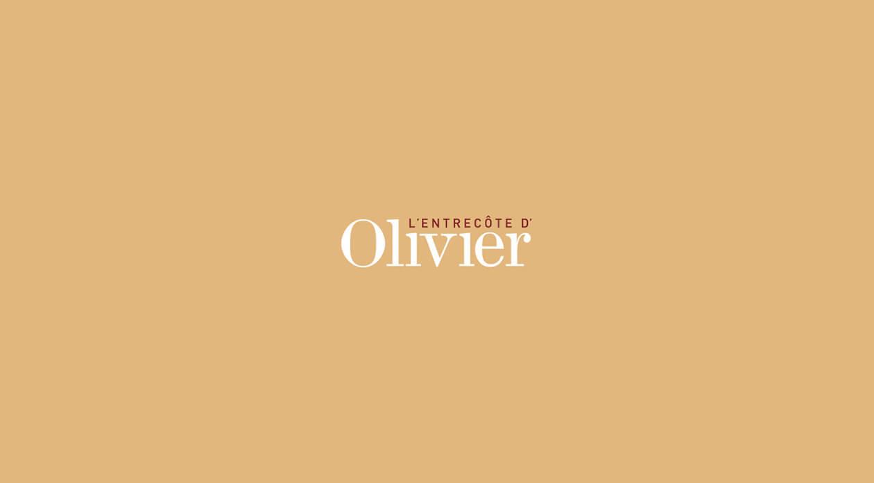 Olivier Anquier | Logo L'Entrecôte