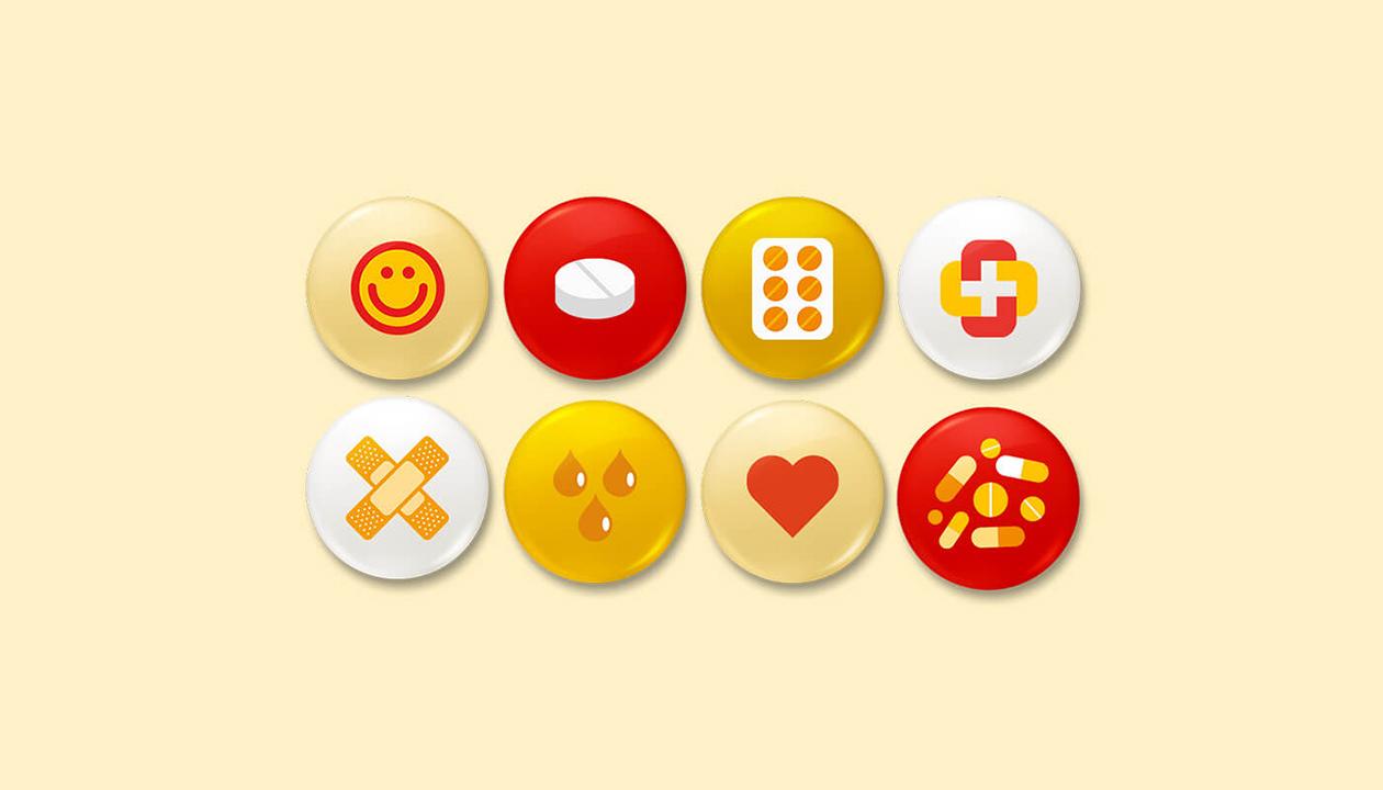 Poupafarma | Bottons | Pins