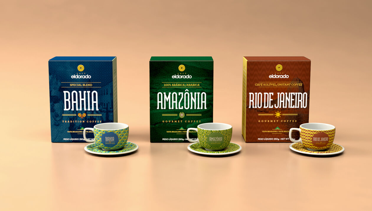 Eldorado | Cafés | Coffees | Embalagem e Brindes | Packaging and Gifts