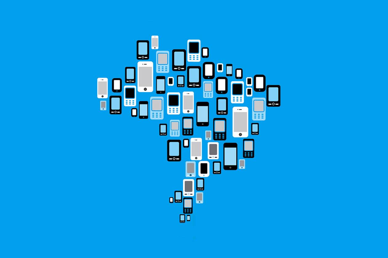 Doing mobile business   Fazendo negócios móveis   Books   Livros   Ilustração   Illustration